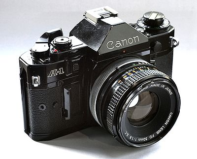 Canon A-1 with 50mm f/1.8