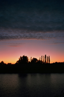 The Ouse at dusk